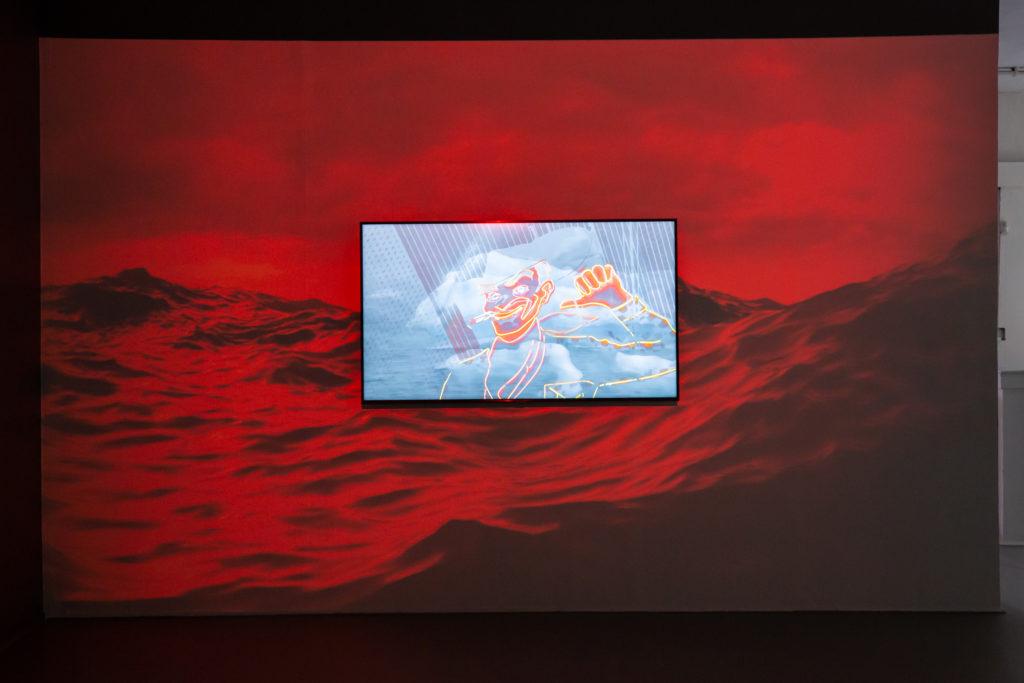 Photo by Melissa Blackall | Magda Fernandez, Untitled, 2020 (installation view).