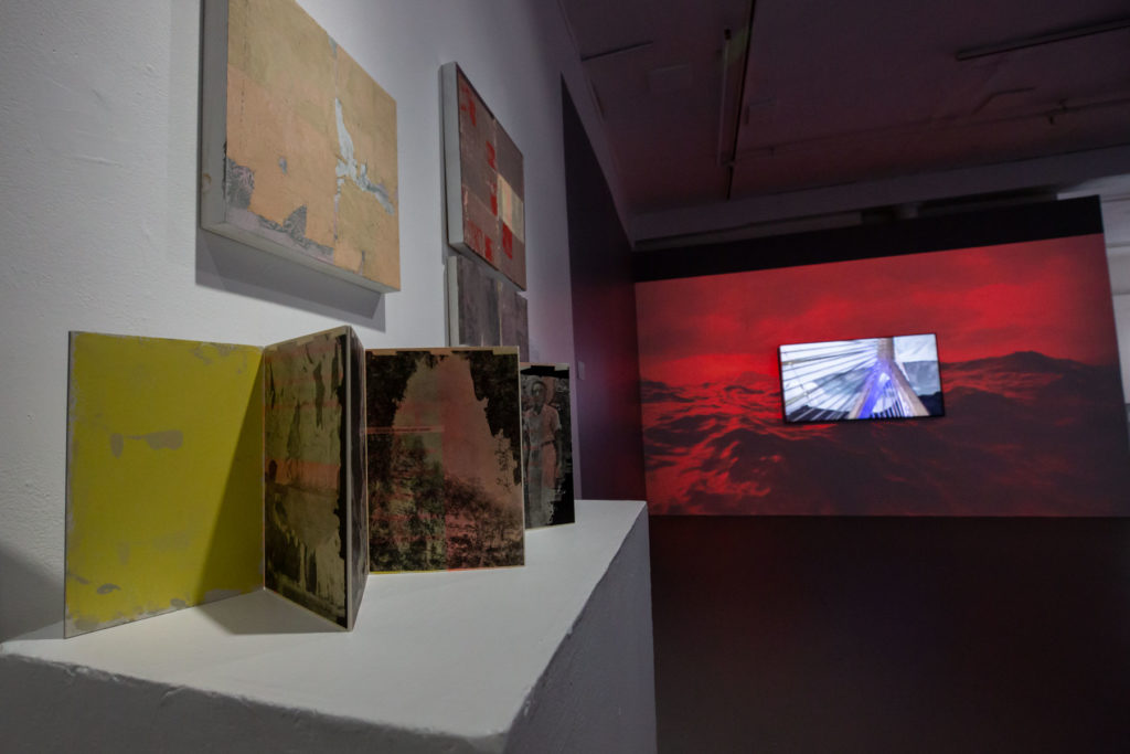 Photo by Melissa Blackall | Installation view, FeministFuturist, BCA Mills Gallery, 2020.
